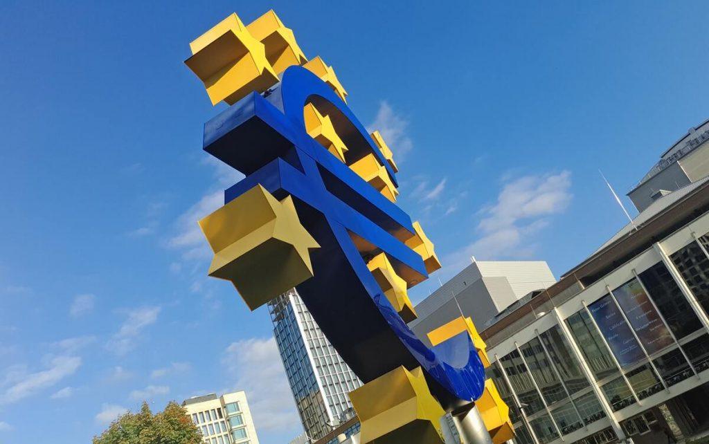 Logo euro de la Banque Centrale Européenne