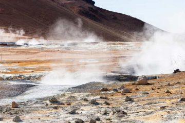 energie geothermique du sol avec de la fumé