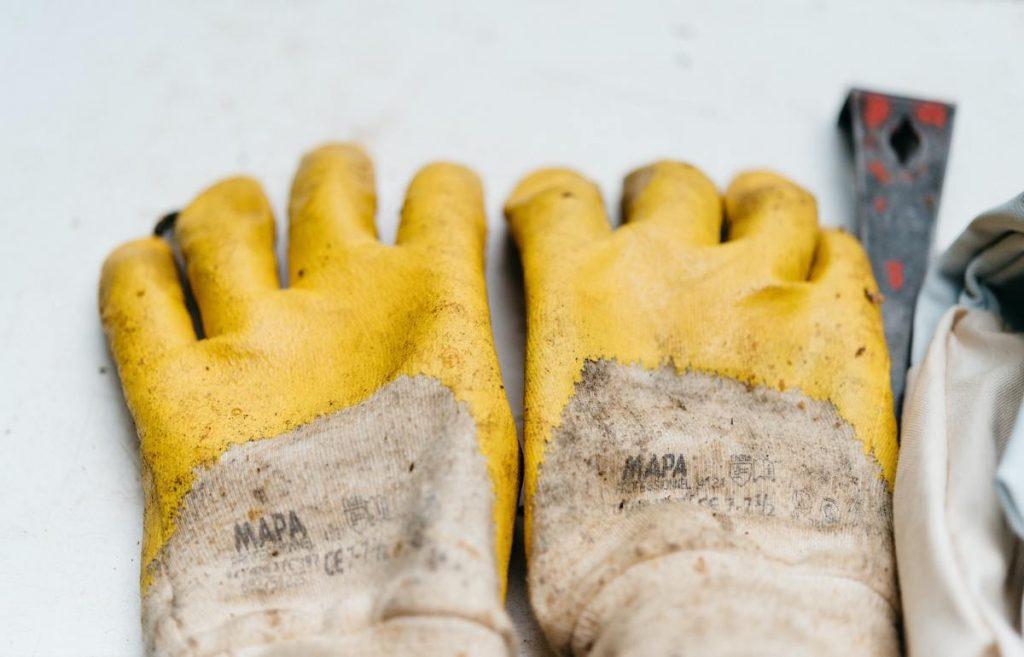 gants de protection pour faire du bricolage