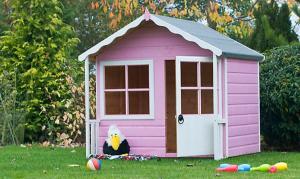 maison de jeux en bois pour enfants