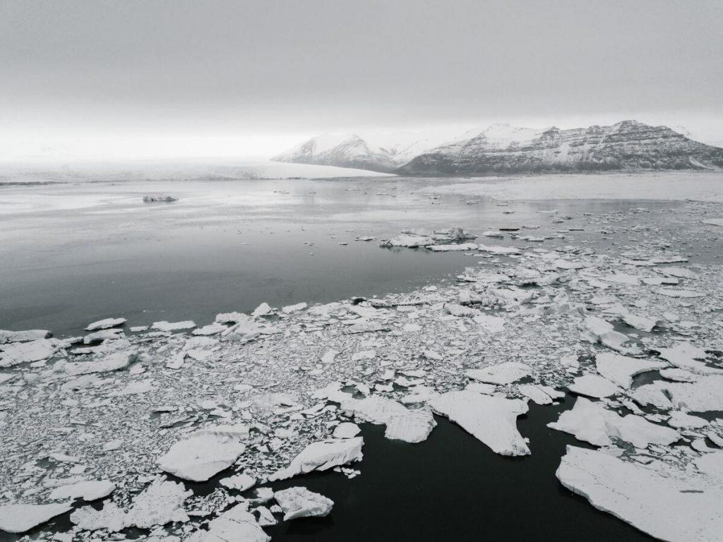 Fonte des glaces en Antarctique