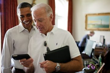 Joe Biden et Barak Obama