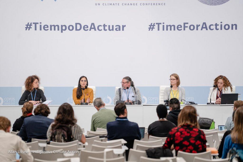 conférence lors de la COP25