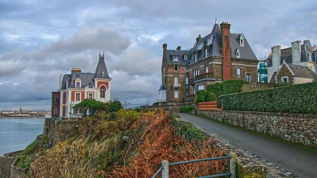 Maisons à Dinard en Bretagne