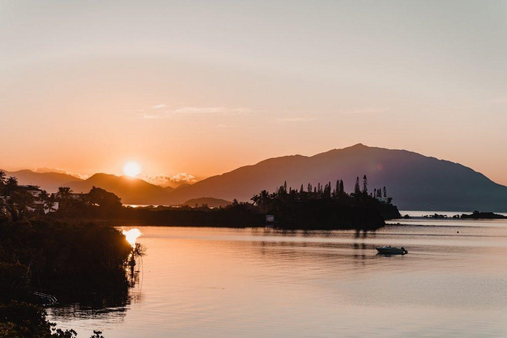 Nouvelle Calédonie coucher de soleil