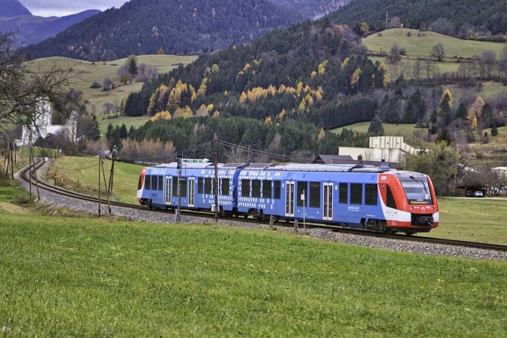 Train hydrogène campagne