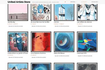 présentation site united artists