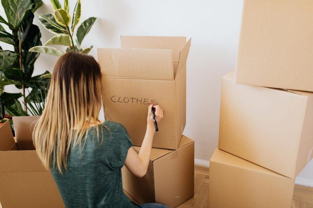 chasseur immobilier cartons déménagement