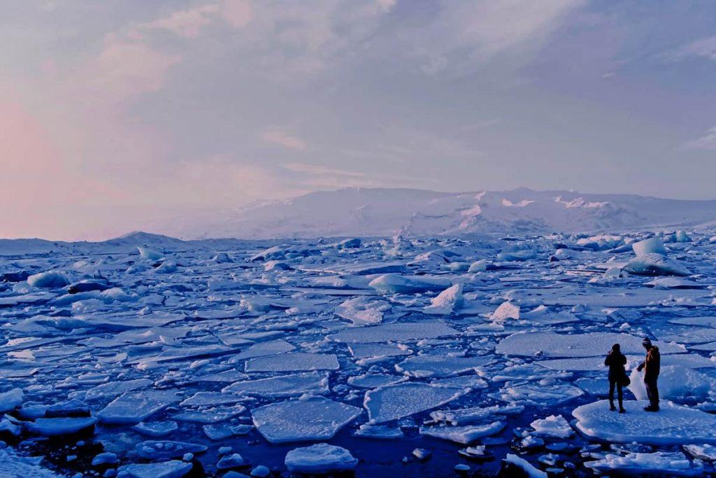 rechauffement climatique fonte des glaces